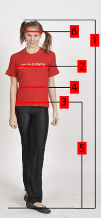 How to properly measure for women's clothing