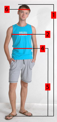 How to properly measure for men's clothing
