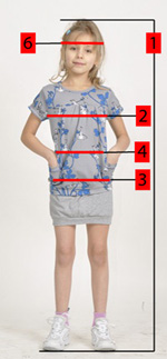 How to correctly measure for children's clothes