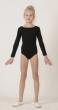 Gymnastic leotard Т1358, sleeve 3/4, Gymnastics clothing