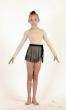 Трико гімнастичне Т1358. Спідниця дівоча Ю1434, Одяг для гімнастики, Одяг для танців