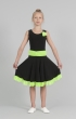 Платье танцевальное П1814, Одежда для выступлений, Одежда для танцев