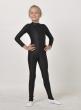 Комбінезон дівчачий зі слідом  К1095. Чешки дитячі Ч1027, Одяг для гімнастики, Одяг для танців, Спеціальний одяг