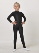 Overall for girl with stirrup К1095. Ballet shoes (leather) CH1027,Gymnastics clothing,Dancewear, Special clothing