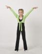 Overall for girls К1094,Gymnastics clothing ,Sportswear