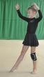 Трико гимнастическое Т117. Юбка девичья Ю962, Одежда для гимнастики
