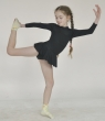 Gymnastic leotard with skirt Т186,Gymnastics clothing