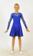 Платье танцевальное П1642, Одежда для выступлений, Одежда для танцев