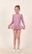 Gymnastic leotard with skirt Т186,Gymnastics clothing