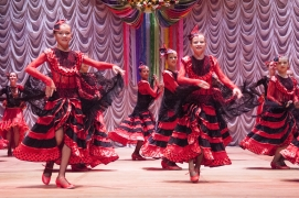 "stage dance costume ""Flamenco"""