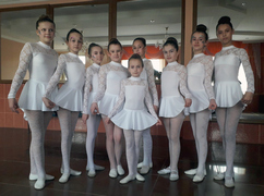 Gymnastic leotards T1108 for dance team