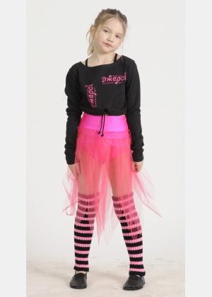 Блуза розігрівка Б1218, Одяг для гімнастики, Одяг для танців