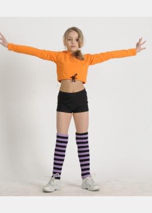 Блуза розігрівка Б1217, Одяг для гімнастики, Одяг для танців