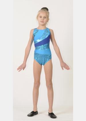 Трико гимнастическое Т1490, Одежда для выступлений, Одежда для гимнастики