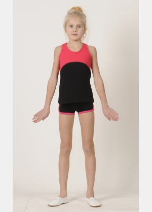 Sport top М1457. Shorts SH569, Activewear