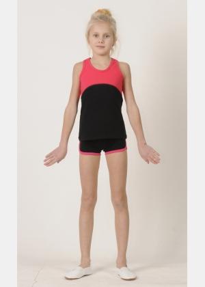 Sport top М1457. Shorts SH569, Activewear
