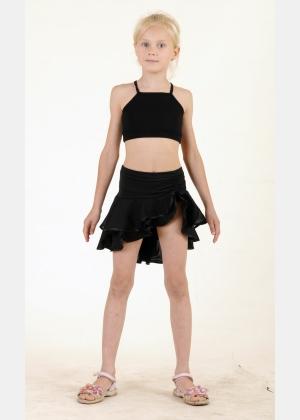 Майка-топ М1165.Спідниця для танців Ю1435, Одяг для танців
