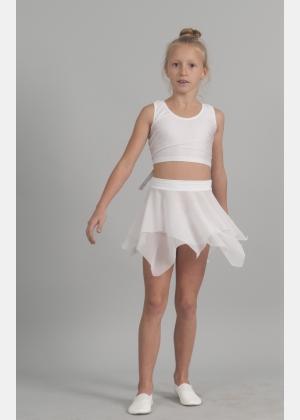 Спідниця дівоча Ю1816. Майка-топ М908, Одяг для виступів, Спортивний одяг, Одяг для активного відпочинку