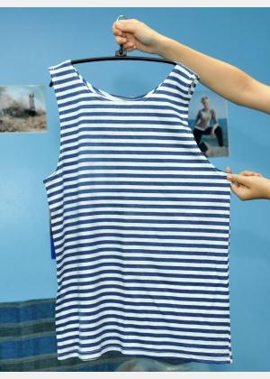 "Shirt ""marine"" М1608"