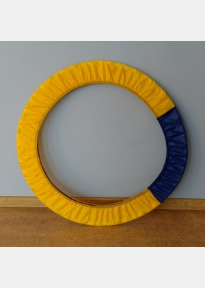 Чохол для обруча Ч1956 жовто-синього кольору