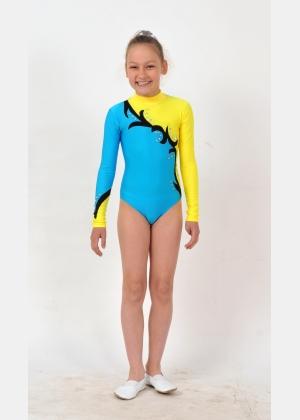 Трико гимнастическое Т1588, Одежда для выступлений, Одежда для гимнастики