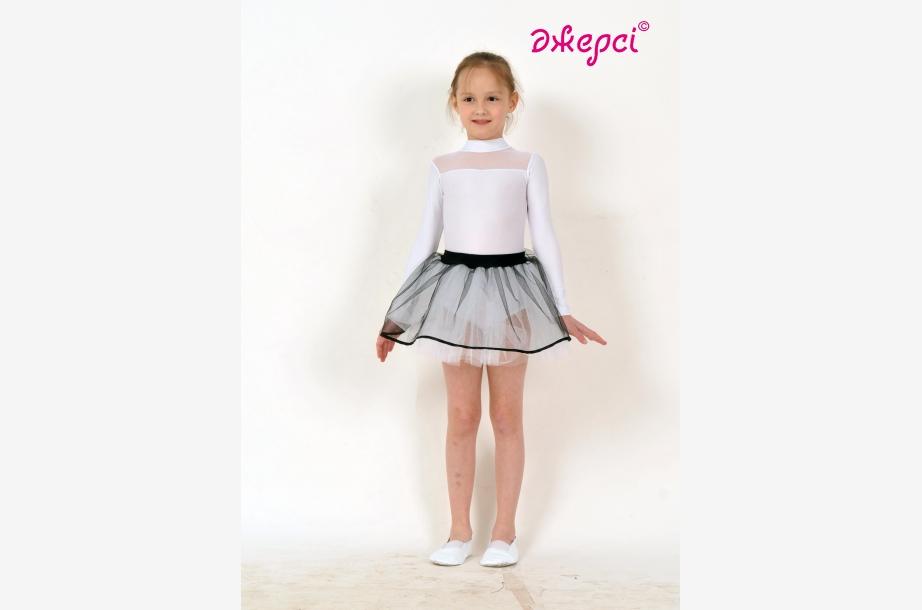 Трико гімнастичне Т117. Спідниця дівоча Ю1433, Одяг для виступів, Одяг для гімнастики, Одяг для танців