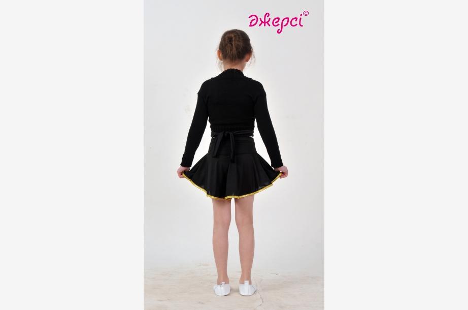Болеро вязаное Б1543 Юбка девичья Ю1629, Одежда для гимнастики, Одежда для танцев