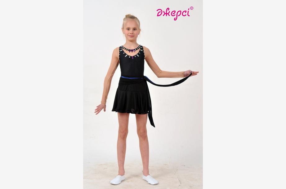 Спідниця дівоча Ю1628, Одяг для виступів, Одяг для танців