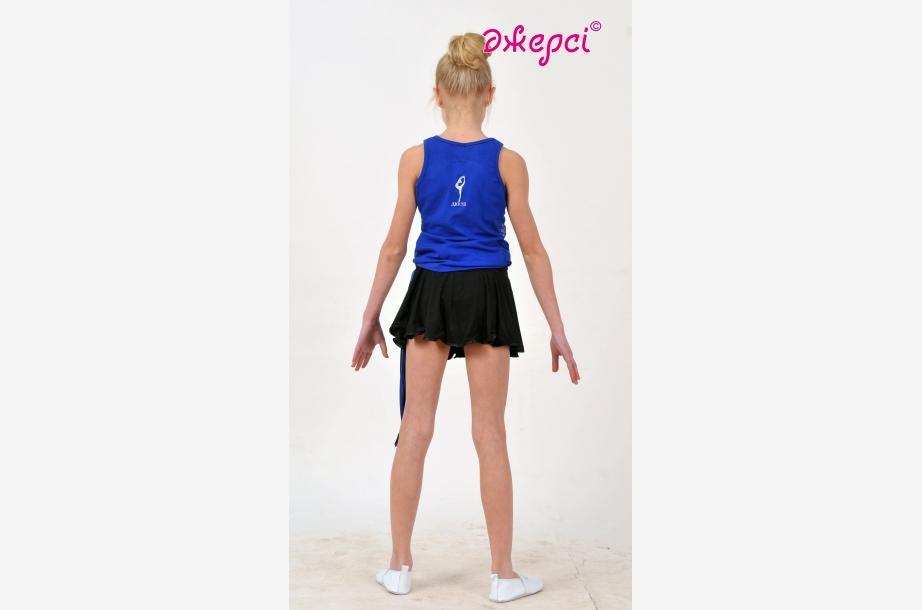Майка спортивная М1592, Одежда для спорта, Машинная вышивка