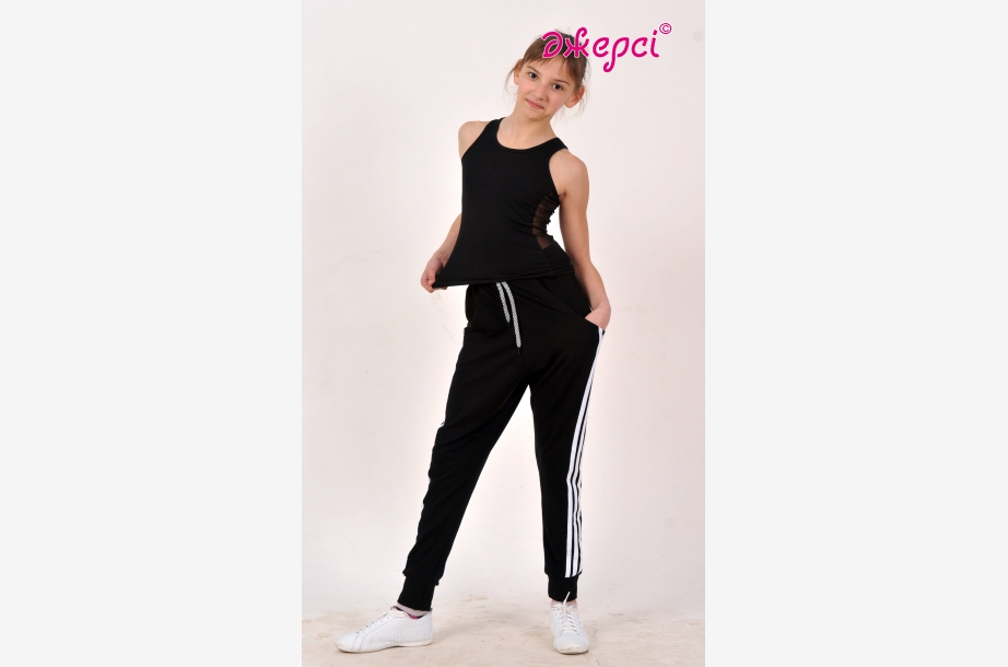 Штани спортивні Б1589 Майка спортивна М1592, Спортивний одяг, Одяг для активного відпочинку