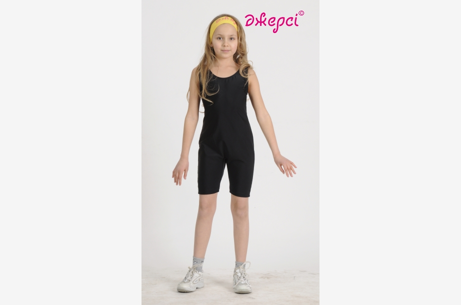 Полукомбинезон спортивный П1274, Одежда для гимнастики, Одежда для спорта