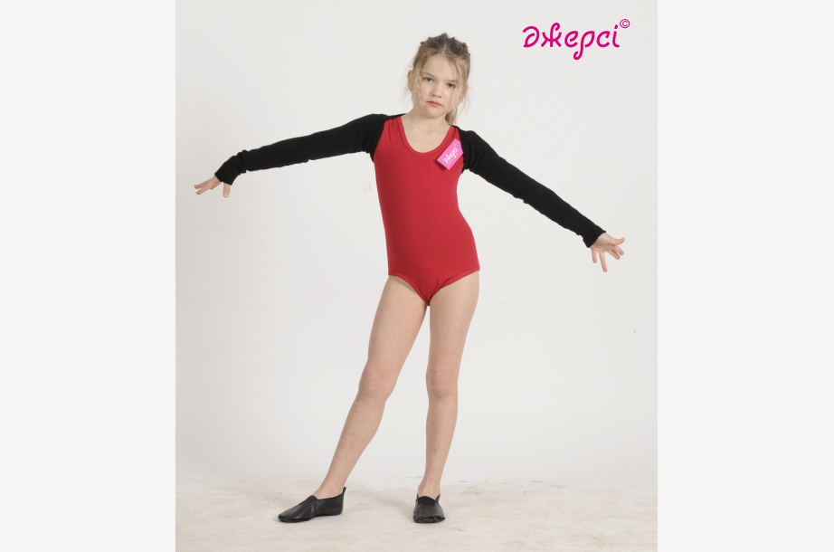 Gymnastic leotard Т56. Ballet  knitted wrap top B1188,Gymnastics clothing,Dancewear