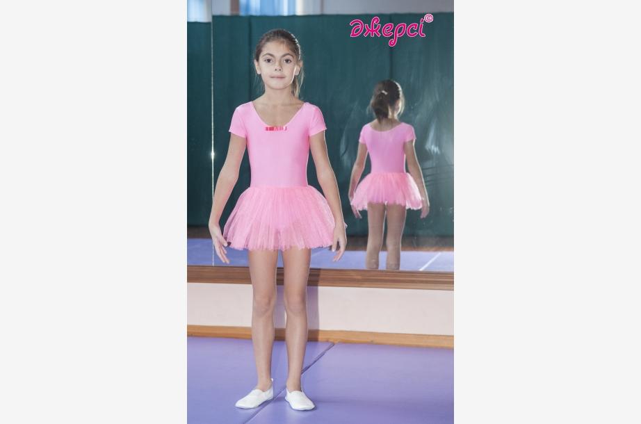 Трико гимнастическое с юбкой Т1688, Одежда для выступлений, Одежда для гимнастики, Одежда для танцев, Одежда для спорта