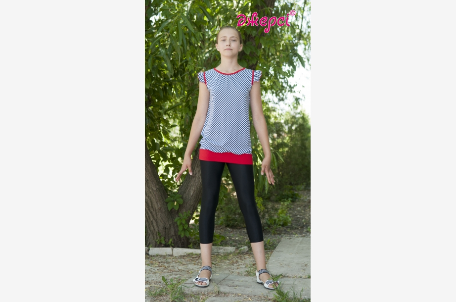 Tunic for girls Т1512.Leggings L1104,Activewear