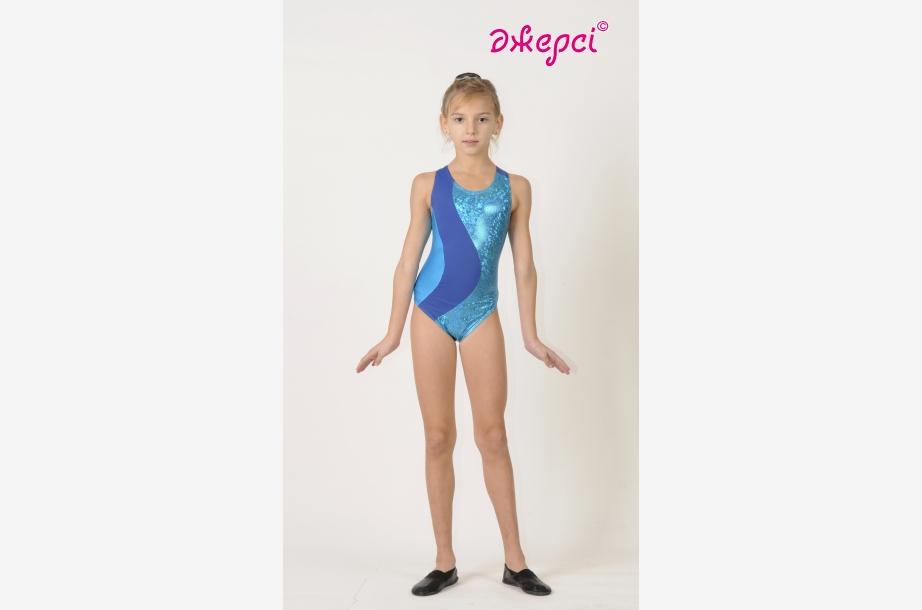 Трико (купальник) гімнастичне Т1489, Одяг для виступів, Одяг для гімнастики