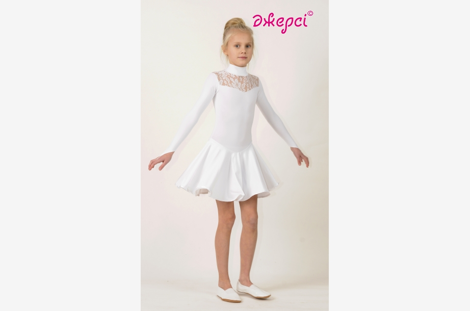 Платье танцевальное П1494, Одежда для выступлений, Одежда для танцев