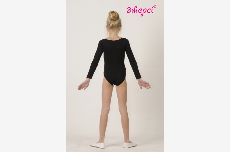 Gymnastic leotard Т1358, sleeve 3/4, Gymnastics clothing