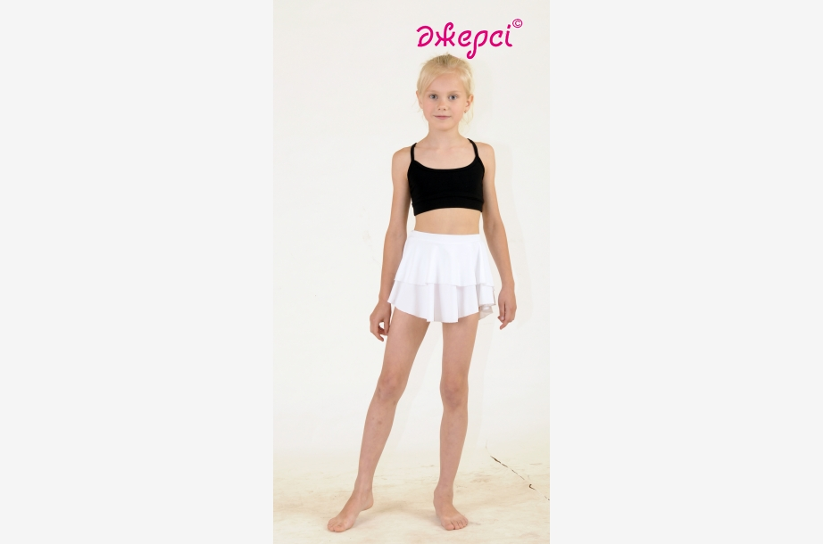 Skirt for girls YU1324. Top М774, Dancewear