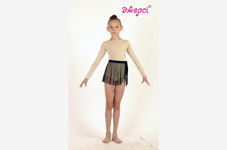 Трико девичье гимнастическое Т1358