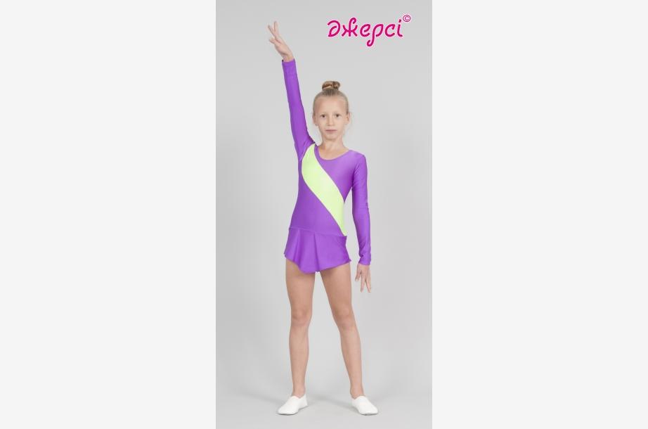 Трико (купальник) гімнастичне Т1815, Одяг для виступів, Одяг для гімнастики