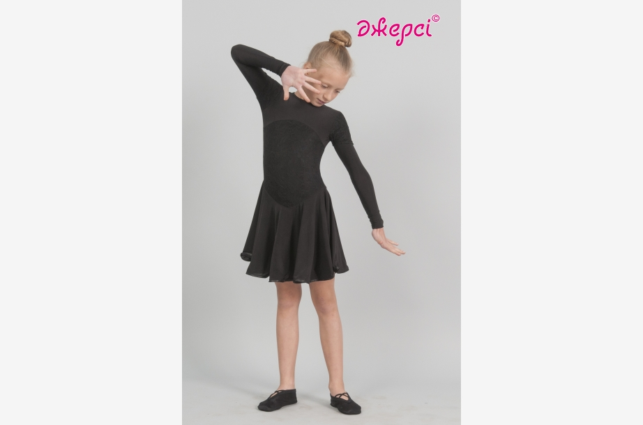 Платье танцевальное П1843, Одежда для выступлений, Одежда для танцев