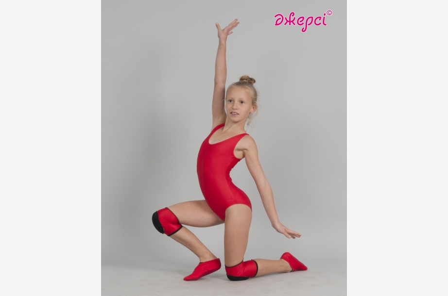Gymnastic leotard Т1057.Knee wraps N1791. Ballet shoes CH1835,Gymnastics clothing,Dancewear