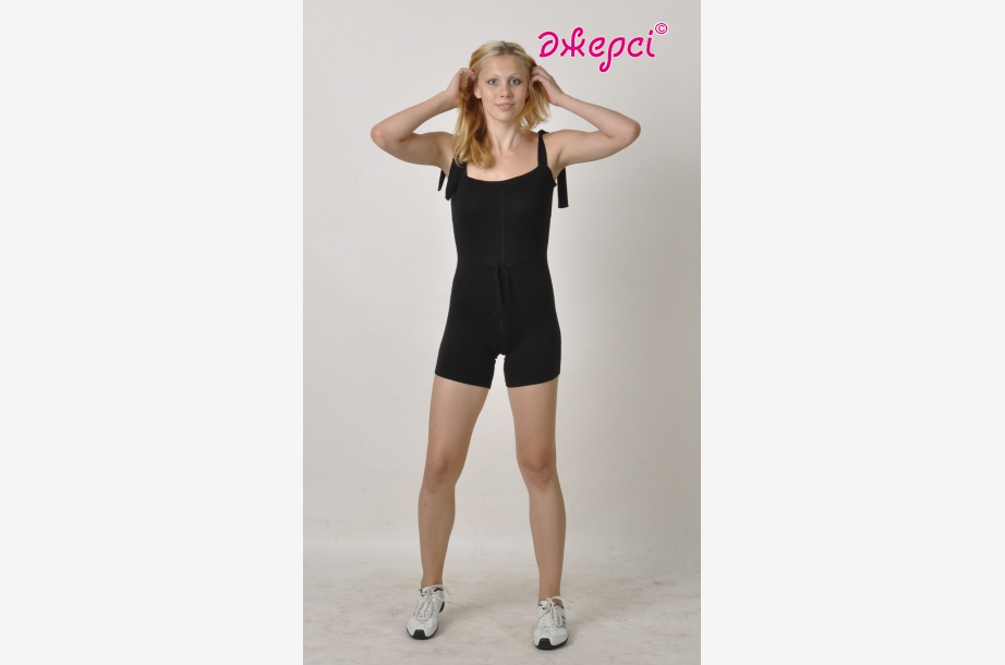 Overall for girls К1096,Gymnastics clothing