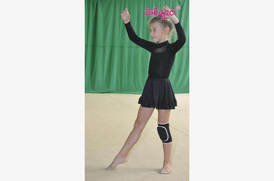 Gymnastic leotard Т117. Skirt for girls YU962, Gymnastics clothing