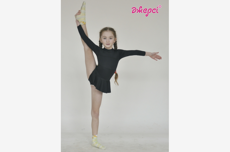 Трико гімнастичне зі спідницею Т186, Одяг для гімнастики