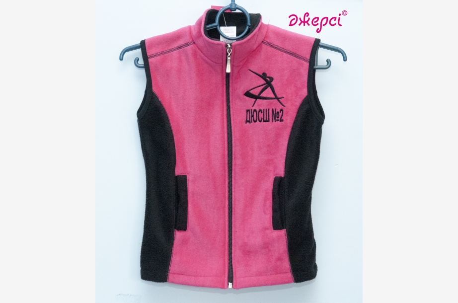 Children's waistcoat ZH1438, Sportswear, Machine embroidery