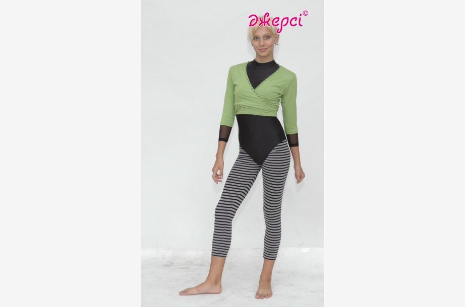 Блуза разогревка Б225, Одежда для гимнастики, Одежда для танцев