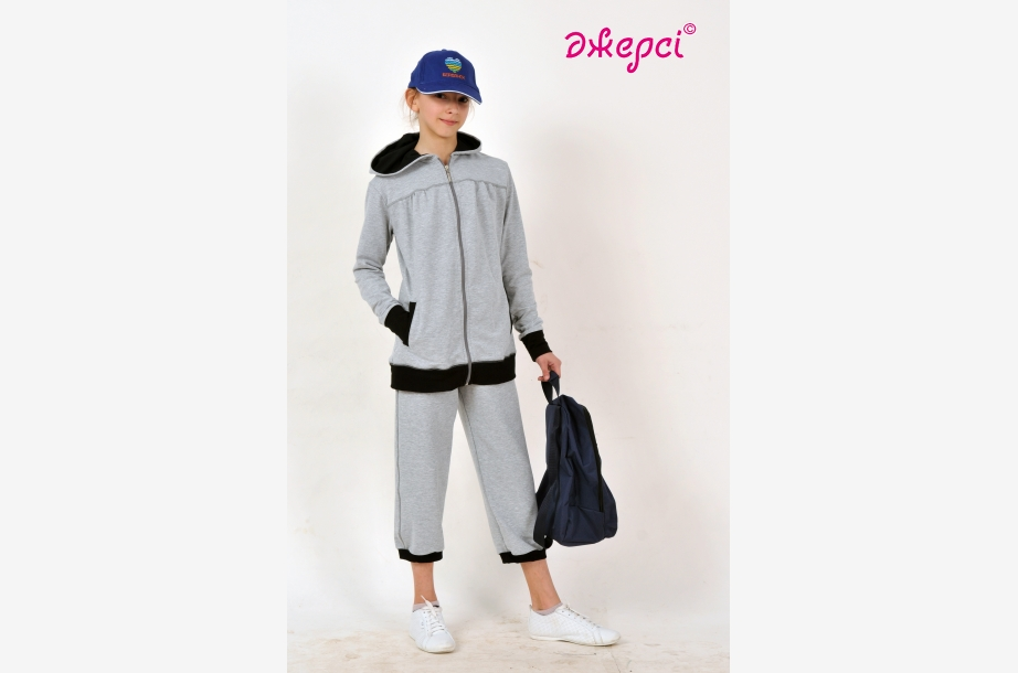 Jacket for girls К1645 ,Cap К1280, Backpack R1655, Sportswear,Activewear, Haberdashery