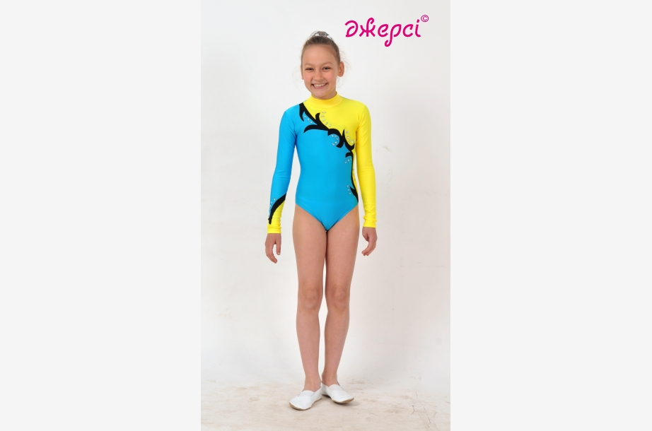 Трико гімнастичне Т1588, Одяг для виступів,Одяг для гімнастики