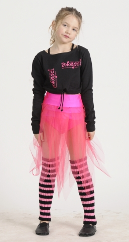 Блуза разогревка Б1218, Одежда для гимнастики, Одежда для танцев